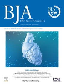 The British Journal of Anaesthesia