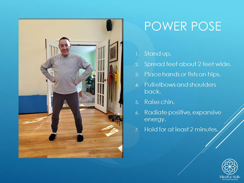 "George Chen, a longtime tai chi teacher based in New York, introduced his Chi Kung Flow session with the ""power pose"" before teaching traditional chi kung exercises. The power pose is based on research by Dr. Amy Cuddy of the Harvard Business School."