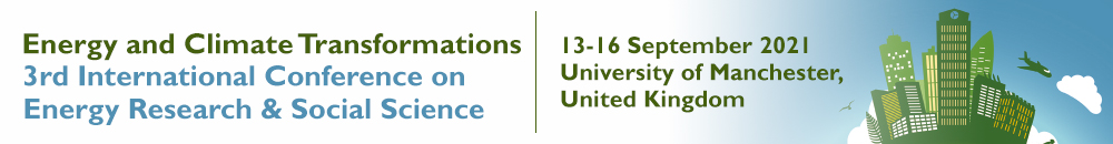 International Conference on Energy Research and Social Science