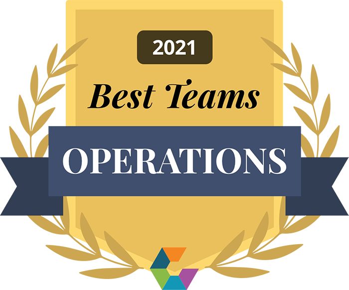 Elsevier Best Operations Team 2021 Award