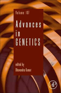 Advances in Genetics book series cover image