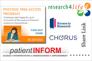 Free and low-cost access to scientific research