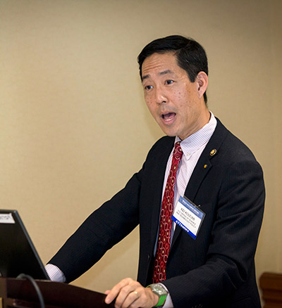 Kei Koizumi, Assistant Director of Federal Research and Development for the White House Office of Science and Technology Policy.