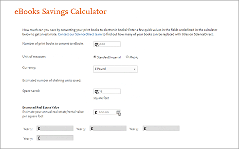 Space savings calculator | ScienceDirect