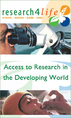 Research4Life – Access to Research in the Developing World