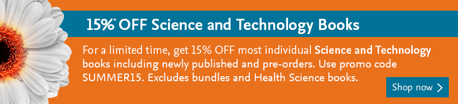 15% OFF Science and Technology Books