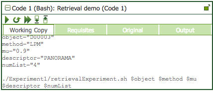 Executable paper code