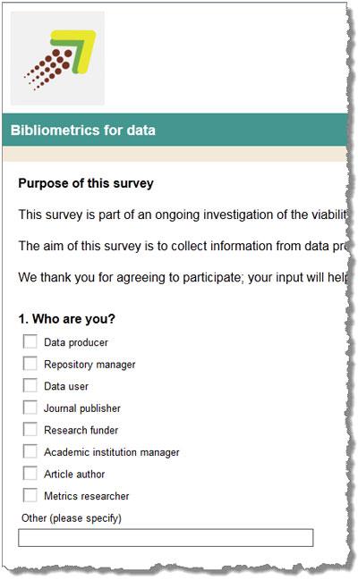 Take the survey.