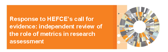 Response to HEFCE's call for evidence