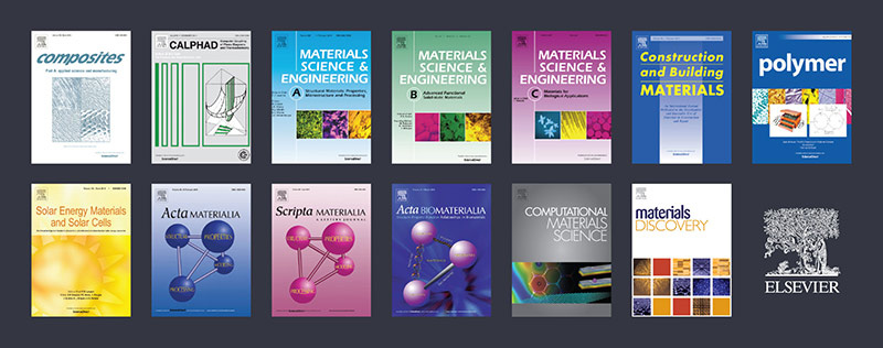 13 journals are participating in Elsevier's new Materials Science data-sharing initiative.