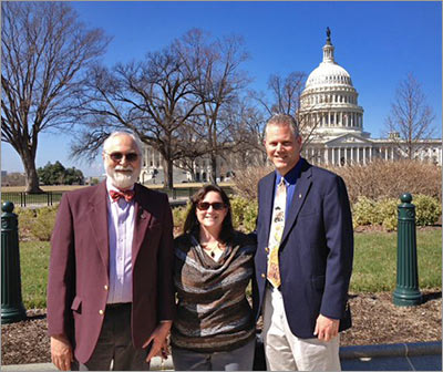 The authors of this story – David M. Falleur, MEd, and Joanna R. Ellis, MS, Rodney E. Rohde, PhD – went to Washington, DC, to visit with various members of Congress as part of an annual ASCLS initiative. They discussed important issues around Medical Laboratory Science and the profession in general.
