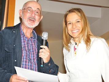 Professor Coleman and Petek Korkusuz at the workshop in Turkey.