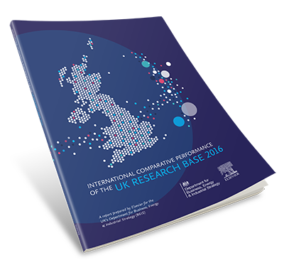 International Comparative Performance of the UK Research Base - 2016 download graphic