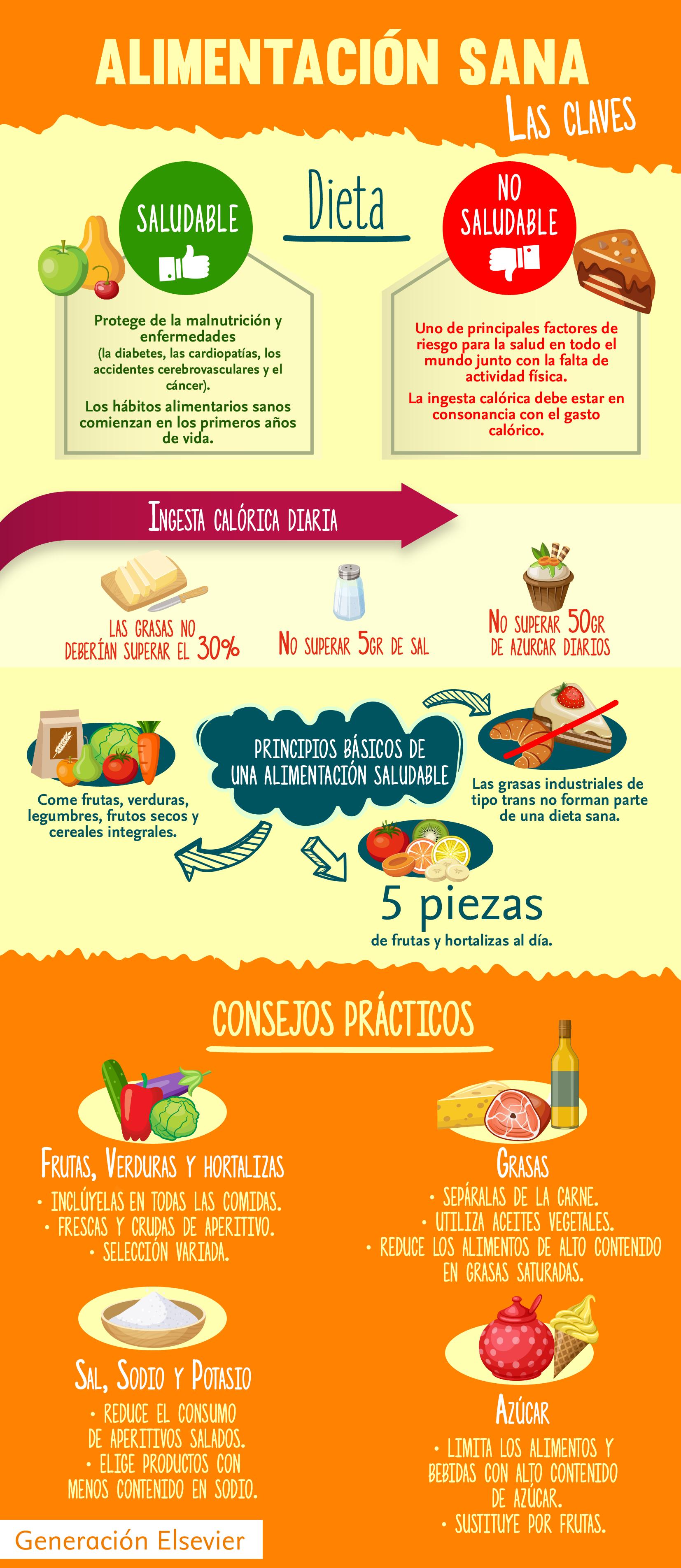 dieta alimenticia para una alimentacion saludable