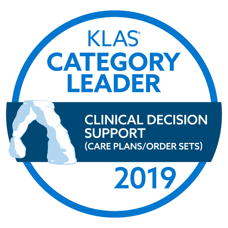 2018 Best in KLAS® Software & Services report - Clinical Decision Support
