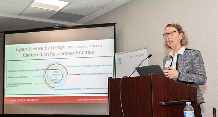 Prof. Sarah Nusser, PhD, of Iowa State University talks about accelerated public access to research data.