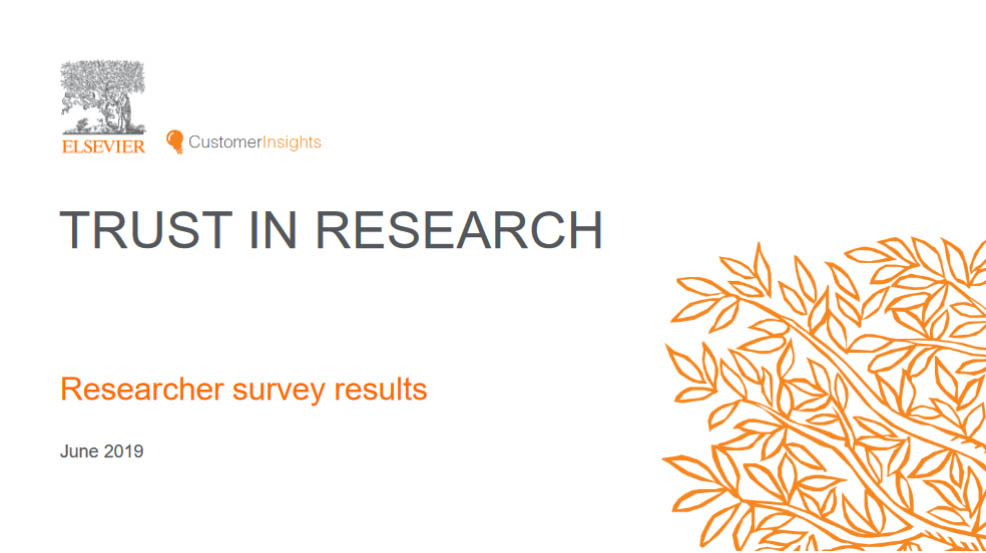 Download the Trust in Research report.