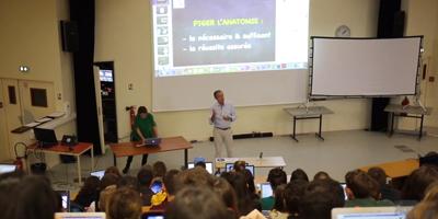 Les conférences de Michel Dufour : « piger » l'anatomie