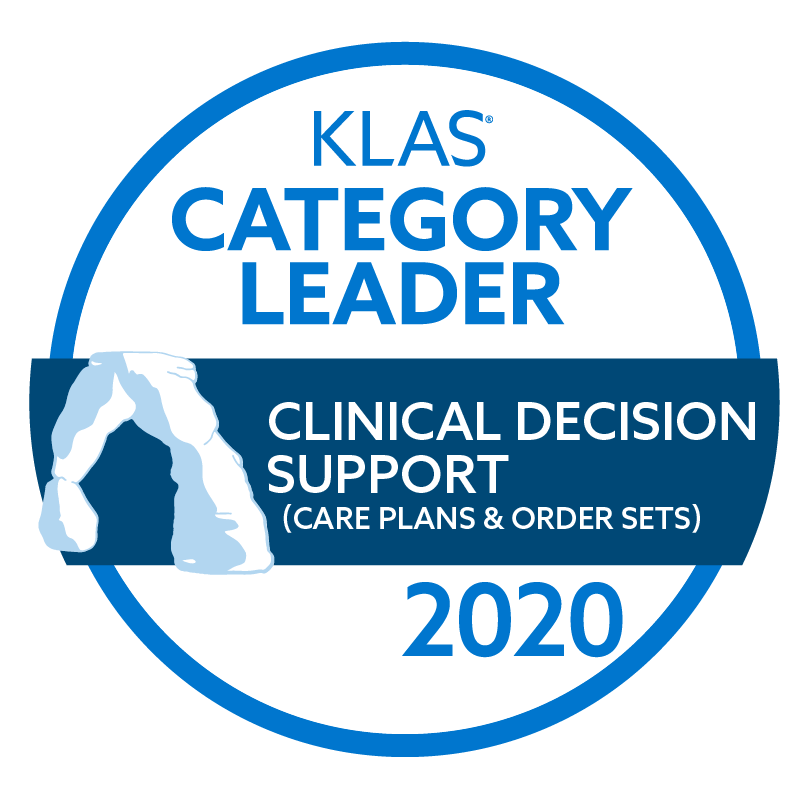 2020 Best in KLAS® Software & Services report - Clinical Decision Support