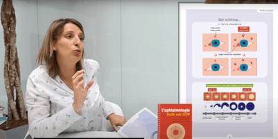 Clémence nous présente L'ophtalmologie facile aux ECNi