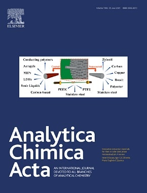 Analytica Chimica Acta journal cover