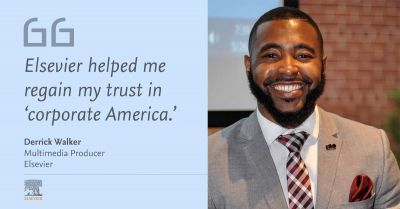 """How Elsevier helped me regain trust and comfort in """"corporate America"""""""