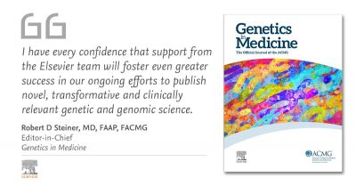 ACMG partners with Elsevier to publish Genetics in Medicine journal