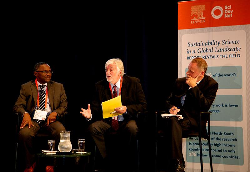 Romain Murenzi, PhD; Alexander Zehnder, PhD; and Richard Horton,  FRCP, FMedSci