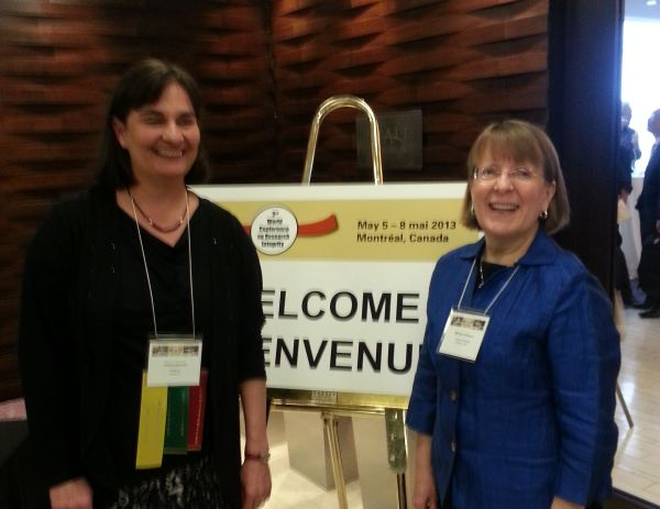 Co-chairs of the Conference: (L-R) Sabine Kleinert, The Lancet's Senior Executive Editor and former Vice Chair of the Committee on Publication Ethics (COPE) and Melissa Anderson, Associate Dean of Graduate Education and Professor of Higher Education at the University of Minnesota.