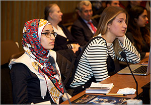 At the UN, the legacy of Ibn Al-Haytham inspires young people