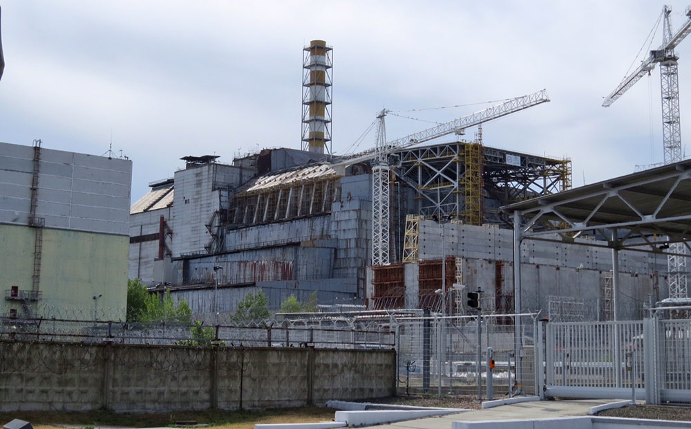 Chernobyl number 4 reactor in 2015 (Credit: <a target=&quot;_blank&quot; href=&quot;http://www.ceh.ac.uk/TREE&quot;>TREE project</a>)
