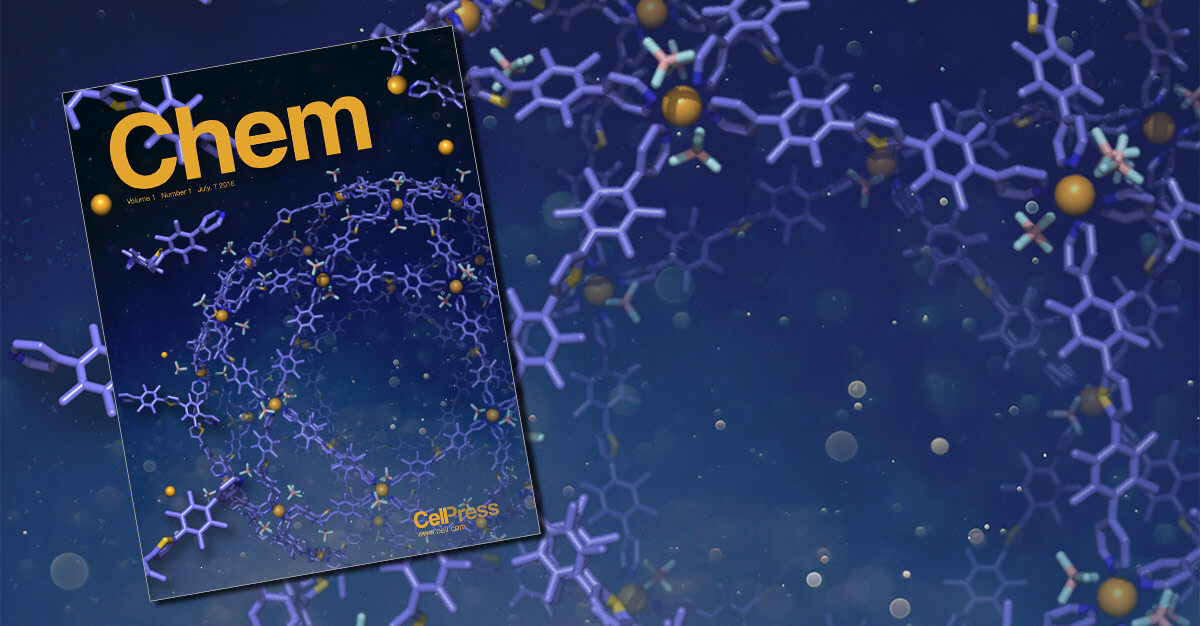 Cell Press's new chemistry journal addresses global challenges