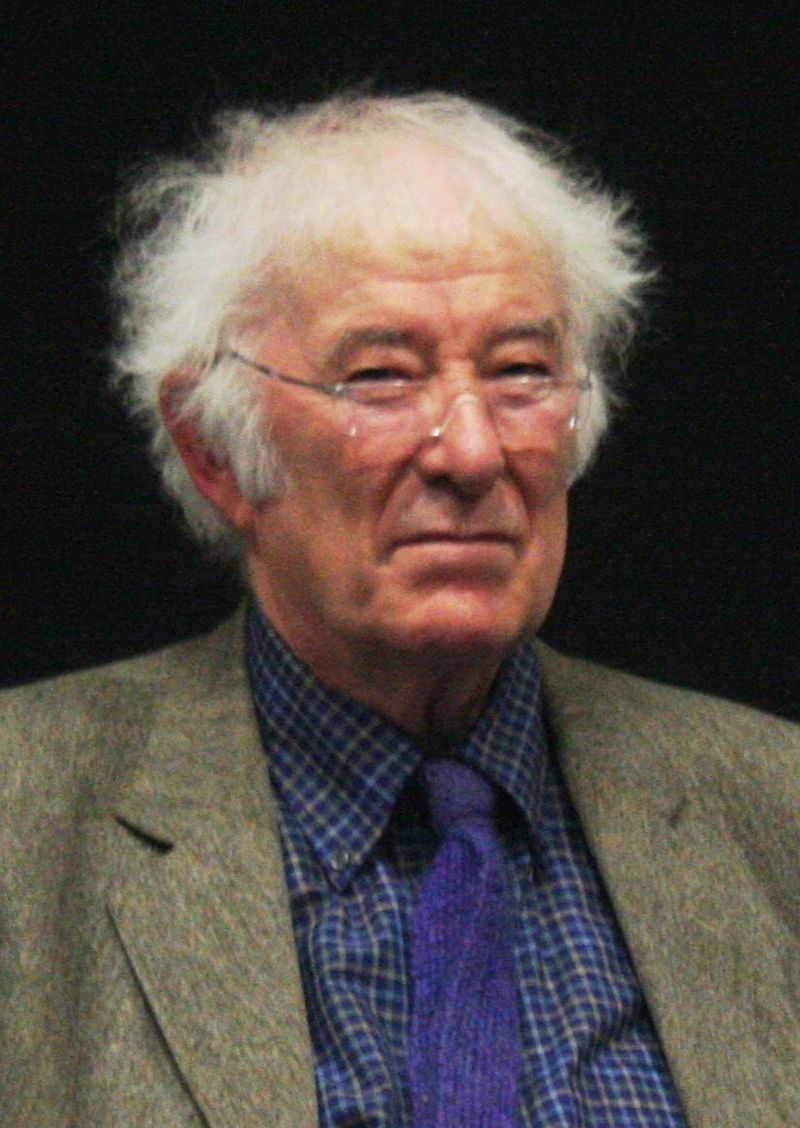 Irish poet and Nobel laureate Seamus Heaney at the University College Dublin in 2009. (Photo by <a rel=&quot;nofollow&quot; class=&quot;external text&quot; target=&quot;_blank&quot; href=&quot;http://www.flickr.com/photos/seanoconnor365&quot;>Flickr user Sean O'Connor</a>, <a target=&quot;_blank&quot; href=&quot;http://creativecommons.org/licenses/by-sa/2.0&quot; title=&quot;Creative Commons Attribution-Share Alike 2.0&quot;>CC BY-SA 2.0</a>, <a target=&quot;_blank&quot; href=&quot;https://commons.wikimedia.org/w/index.php?curid=30262914&quot;>Link</a>)