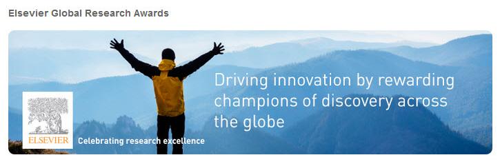 Elsevier Global Research Awards portal