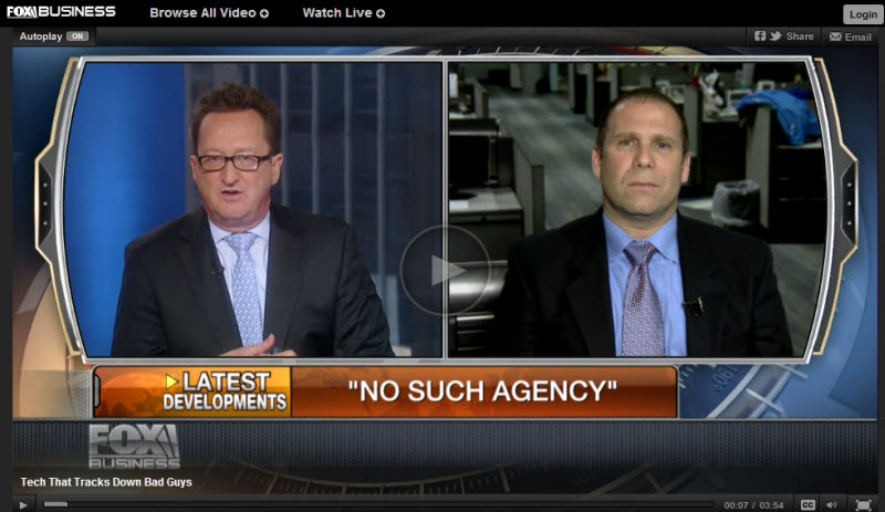 Fox Business News interview with NIck Selby