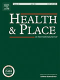 Health and Place Journal cover image