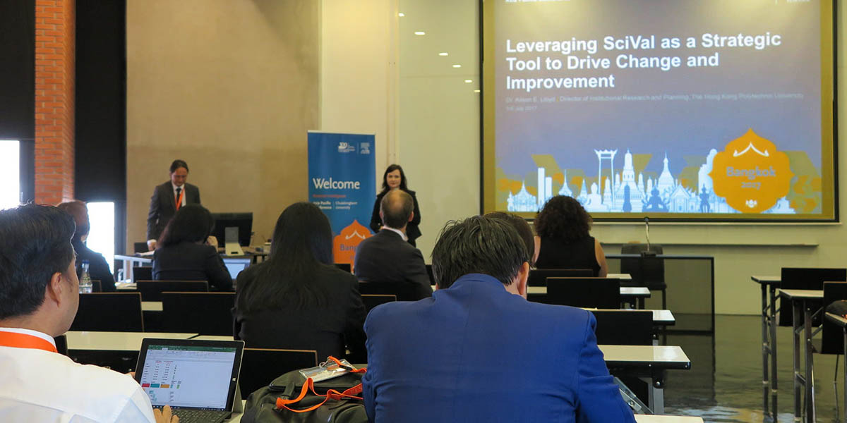 Dr. Alison Lloyd, Director of Institutional Research and Planning at The Hong Kong Polytechnic University, shares insights on their use of SciVal for data analytics.