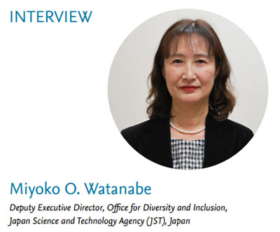 Miyoko O. Watanabe is one of various experts featured in Elsevier&rsquo;s 2017 report <em>Gender in the Global Research Landscape</em>.