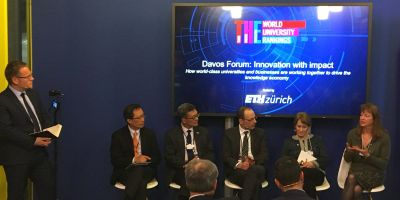At Davos: How can research drive collaboration in a fractured world?
