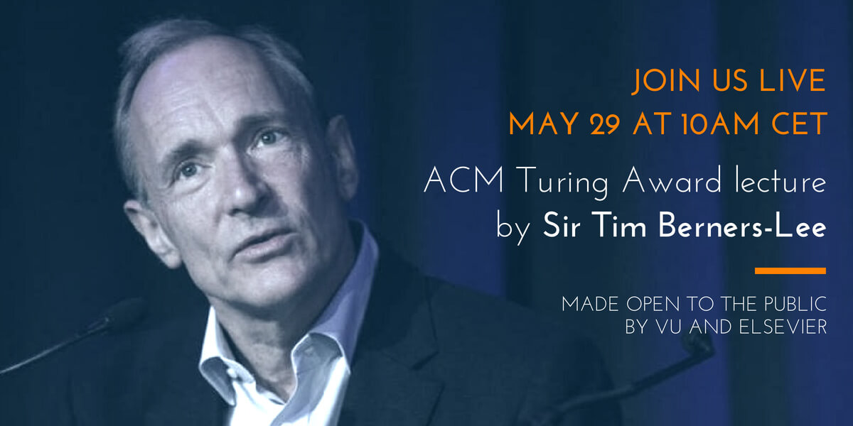 #WebSci18 – Join us live for the ACM Turing Lecture by Sir Tim Berners-Lee