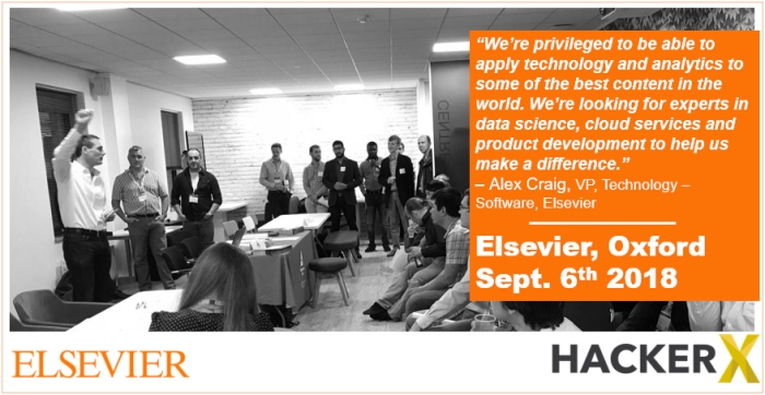 HackerX at Elsevier