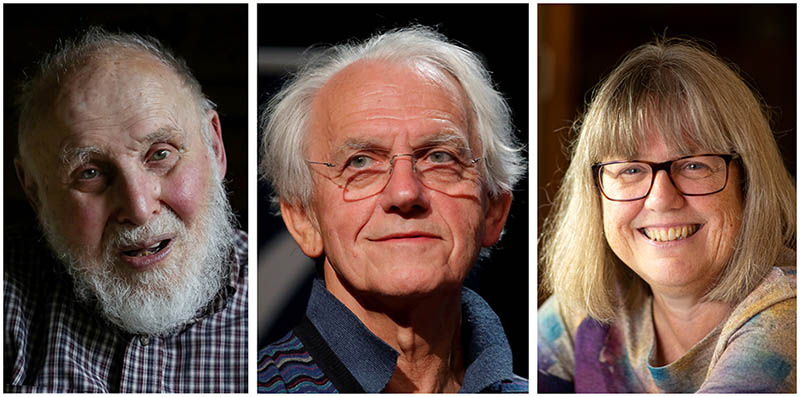"Arthur Ashkin, Gérard Mourou and Donna Strickland were awarded the 2018 Nobel Prize in Physics ""for groundbreaking inventions in the field of laser physics."" (Credit: ANP)"