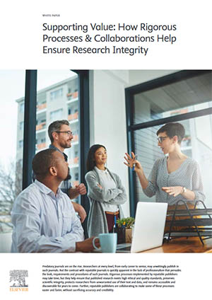 Whitepaper: Supporting Value: How Rigorous Processes & Collaborations Help Ensure Research Integrity