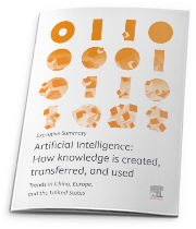 AI: how knowledge is created, transferred, and used