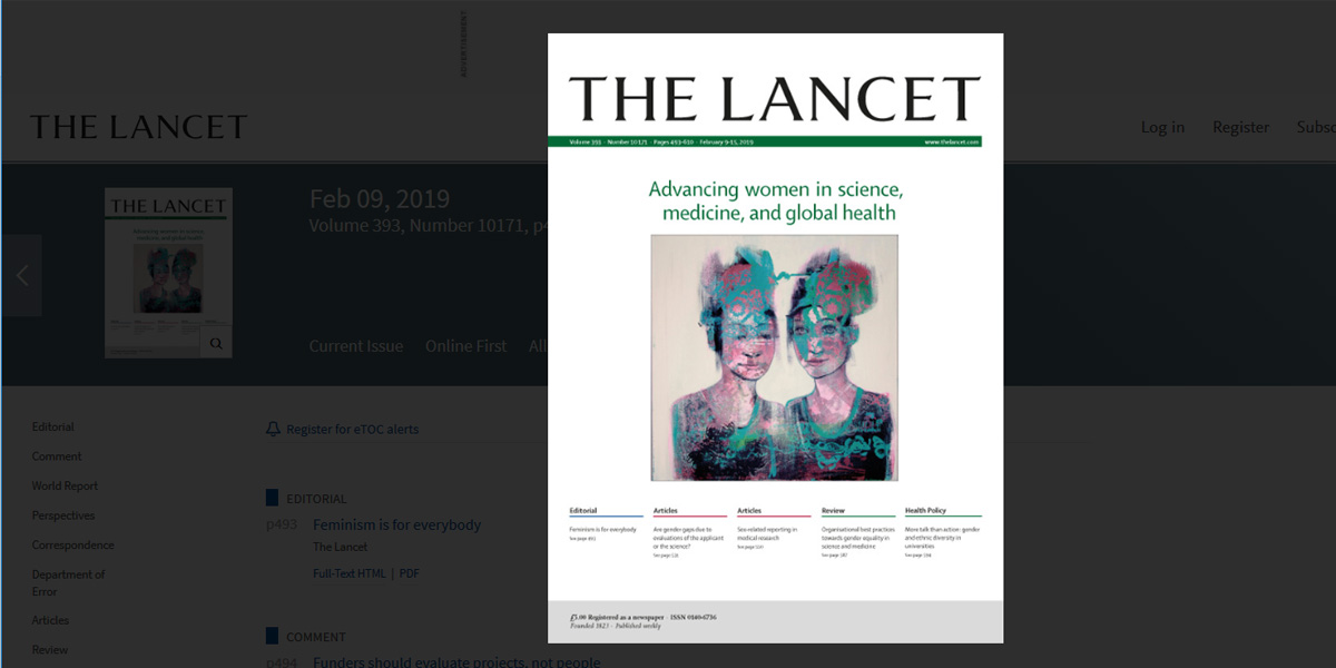 The Lancet: Advancing women in science, medicine, and global health