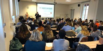 Conférence-débat de David NAUDIN à l'IFSI Jean Baptiste Pussin