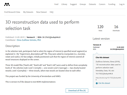 3d reconstruction data - Mendeley Data Margaret Oakley Dayhoff release