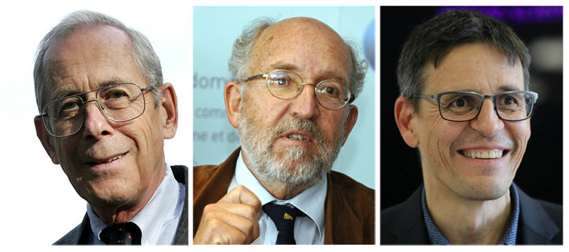 James Peebles shared the Nobel Prize in Physics with Michel Mayor and Didier Queloz. (Photos: ANC)