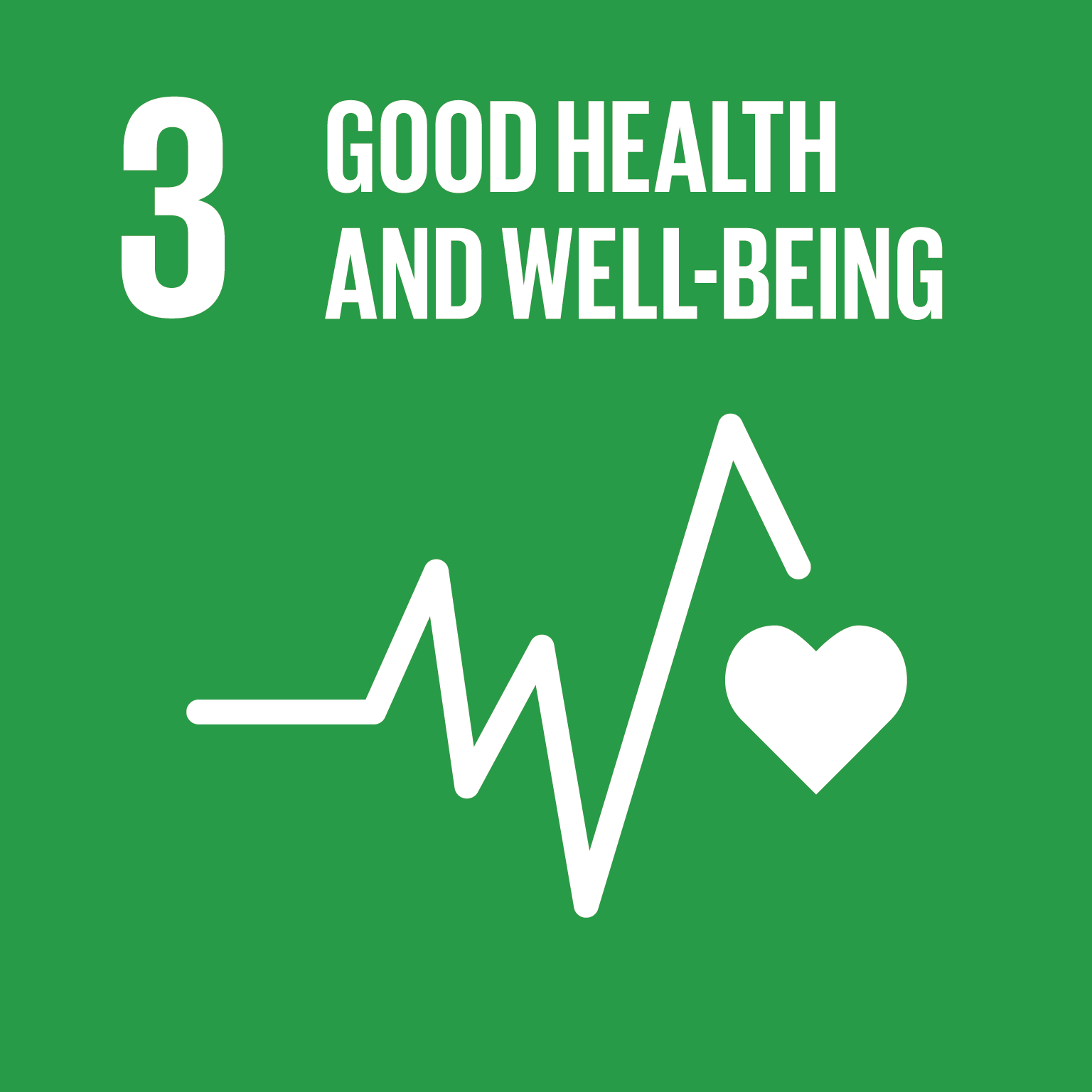 SDG 3 - Good health and well being