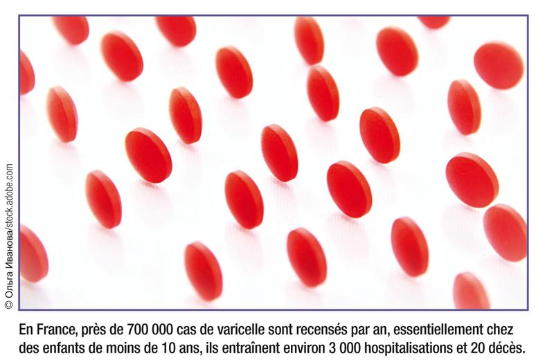 En France, près de 700 000 cas de varicelle sont recensés par an, essentiellement chez des enfants de moins de 10 ans, ils entraînent environ 3 000 hospitalisations et 20 décès.© ОльгаИванова/stock.adobe.com
